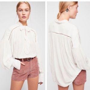 Free People Wishful Moments women's blouses
